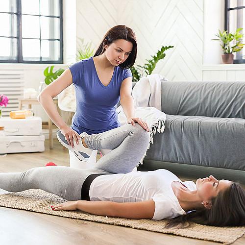 Klinik Fysioterapeut-bruger-ben-logo