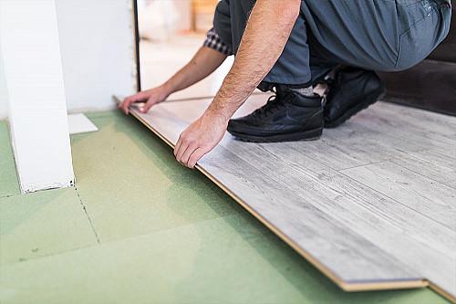 Håndværker Tømrer-lægger-gulv banner
