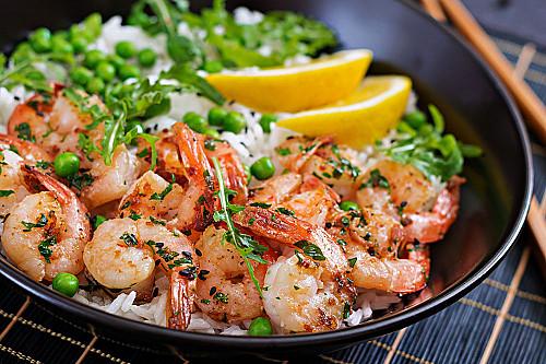 Restaurant-asiatisk-ris-med-rejer-banner