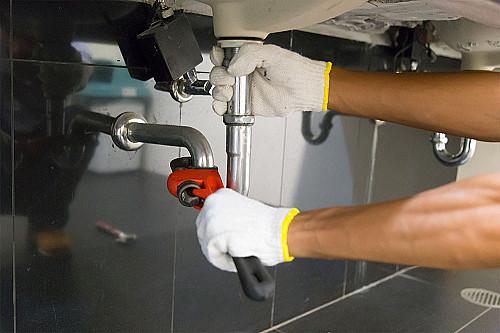 Håndværker Blikkenslager-fixer-vask banner