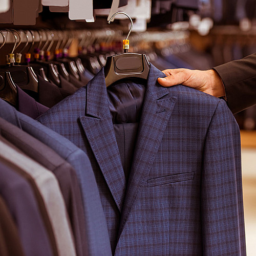 Tøjbutik-blazer-logo