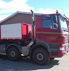 rød lastbil norup entreprenør og vognmand søgeresultater