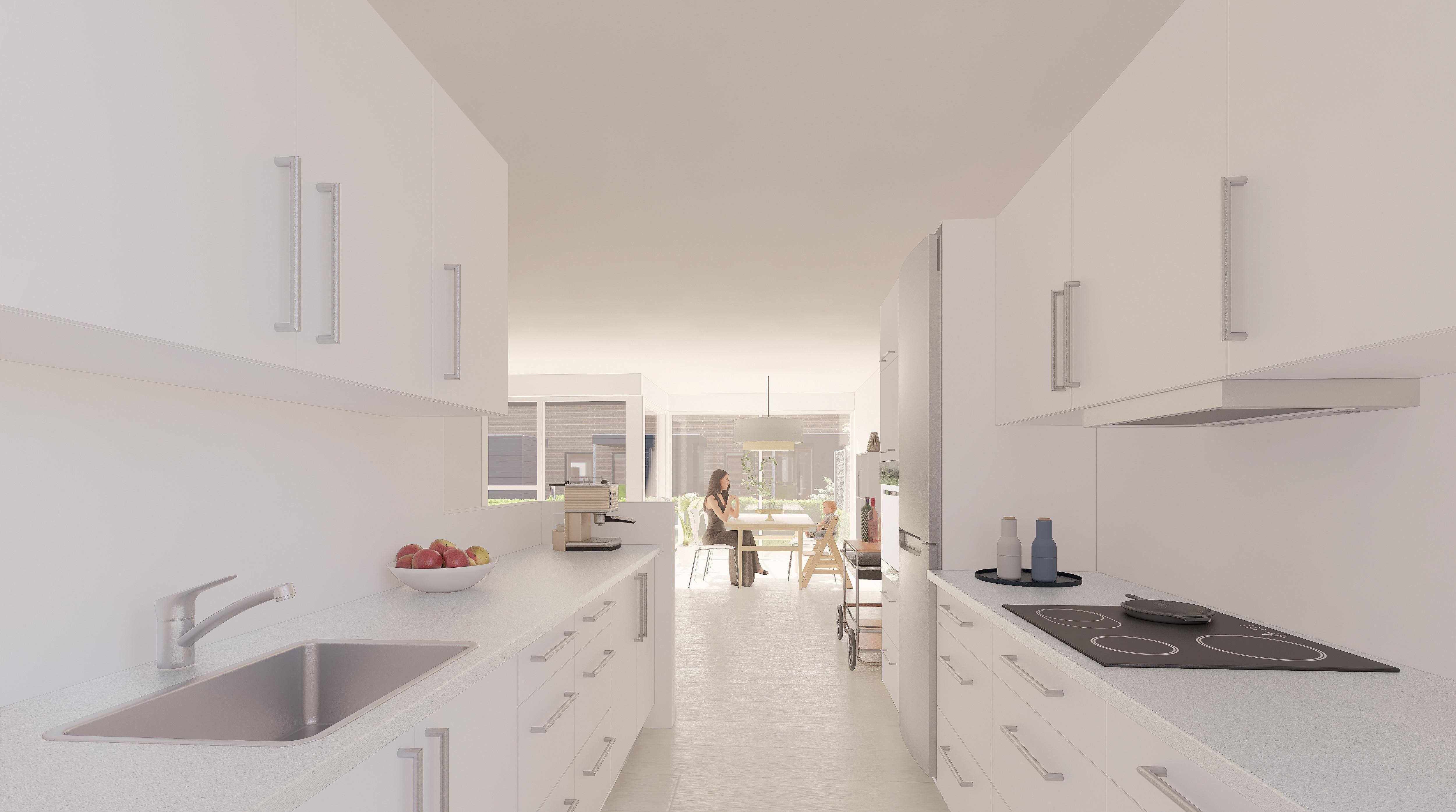 Interior - Type D1 - Køkken